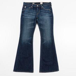 AG Jeans Belle Petite Flare Dark 28R x 31